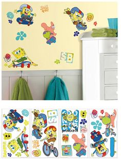 Fathead SpongeBob Sour Note Wall Decals Wall Sticker Outlet - Spongebob decals wall