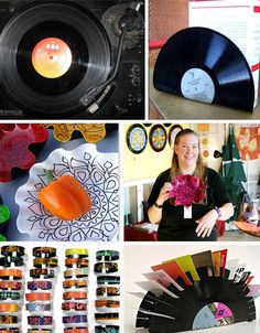 vinyl record recycling Vinyl Records Ripe for Recycled Style