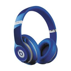 Beats by Dr. Dre Studio Wireless Headphones (Blue) (294.630 HUF) ❤ liked on Polyvore featuring accessories, tech accessories, beats by dr dre headphones, beats by dr. dre and blue headphones