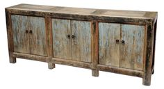 Vintage painted sideboard by TerraNovaLA on Etsy, $1609.00