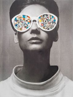 Collage retro par Kelly O'Connor #collage #retro #vintage