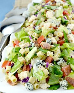 Portillo's Chopped Salad is a copycat recipe like the restaurant version. Loaded with great veggies, lots of goodies and dressed in a sweet Italian dressing