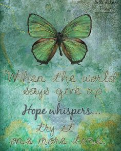 HOPE WHISPERS Inspiration