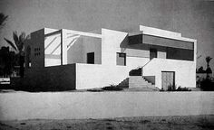 "Home for the injured ""Porta Benito Mussolini"" district in Tripoli, Libya. Umberto di Segni, 1937"