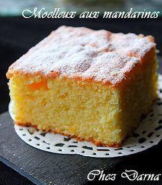 c'est la saison des mandarines, j'en ai profité pour en faire un bon moelleux au jus de mandarines. ce gâteau est léger et bien moelleux, un vrai bonheur ! il peut être fait avec des mandarines ou des clémentines, on confond souvent ces deux agrumes bien...