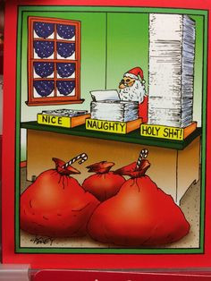 Birthday Humor Inappropriate Awesome 56 Ideas For Funny Christmas Cartoons, Christmas Comics, Christmas Jokes, Funny Cartoons, Holiday Fun, Christmas Time, Christmas Cards, Funny Jokes, Christmas Stuff