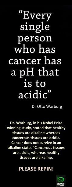 Can you cure cancer by diet alone? Could it be as simple as changing the pH of your body from acid to alkaline? A statement flying round the Internet insists th