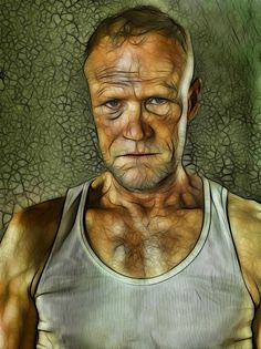 The Walking Dead: Merle: Fractalius Re-Edit by ~nerdboy69 on deviantART