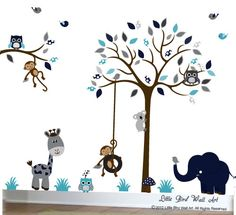 Enfants Wall Decal Nursery Wall Decal par Littlebirdwalldecals
