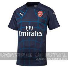 c5bd4be53d899 Venta de Pre Match uniforme del azul marino Arsenal 2015-16  23.90