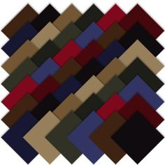 Amazon.com: Moda BELLA SOLIDS DARKS 5 Charm Pack Fabric Quilting Squares 9900PP-22: Arts, Crafts & Sewing