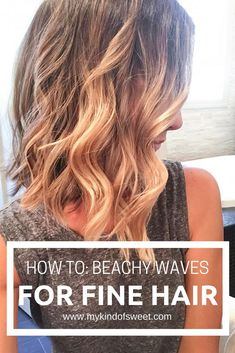 How To Beachy Waves For Fine Hair My Favorite Hair Products my kind of sweet hair styles how to curl your hair blonde hair blonde highlights how to get beachy wave. Medium Hair Styles, Natural Hair Styles, Short Hair Styles, Medium Fine Hair, Long Fine Hair, Fine Hair Tips, Fine Curly Hair, Curling Fine Hair, Hair Curling Tips