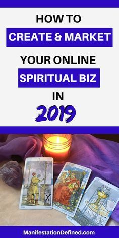 Learn how to grow your psychic advising business with online marketing. Spiritual Advisor, Spiritual Practices, Creating A Vision Board, Psychic Development, Law Of Attraction Quotes, Tarot Spreads, Tarot Readers, Creating A Business, How To Manifest