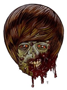 Rob Sachetto's Zombie Art    Liked · March 1         .  It's Justin Beiber.....NOW WHO WANTS BEIBER FEVER!  art by...Rob Sachetto's Zombie Art