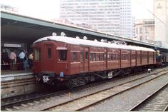 This renovated single deck train of the NSW Railways was part of the Sydney Suburban System form the to their demise in the early This photo was taken at the anniversary of the NSW Railways at Central Station in 2005 Buses And Trains, Bonde, Australian Models, Central Station, My Ride, Train Station, Public Transport, Locomotive, Trains