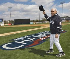 September 23, 2015 -- Baseball Legend Yogi Berra dies aged 90 -- Former New York Yankees' Yogi Berra waves to the crowd before the Yankees home opener spring training baseball game against the Pittsburgh Pirates at George M. Steinbrenner Field in Tampa, Florida, March 3, 2010.