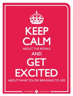 Your Labors > Royal Labour. Be more excited about the big ideas and projects you're giving birth to. #makeithappen