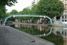 Les ponts du canal Saint-Martin