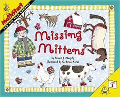 Missing Mittens (MathStart 1): Stuart J. Murphy, G. Brian Karas: 9780064467339: Amazon.com: Books