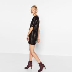 Image 1 of HEEL DETAIL ANKLE BOOTS from Zara