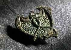 We might not consider it bling, but to the Viking-age woman who wore a fitting from a horse's harness, it was an exotic piece of jewellery. Never mind that it was stolen from the British Isles during a Viking raid.