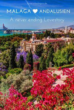Ihr plant einen Spanien Urlaub und hab die 08/15 Ziele satt? Strandurlaub und Sightseeing kann man nicht nur in Barcelona miteinander verbinden! Besucht Andalusien samt ihrer Hauptstadt Malaga und lasst euch von dieser wunderschönen Stadt verzaubern! Ideal auch für einen Roadtrip geeignet - Spaniens Festland überrascht!