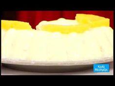 Το δροσερό γλυκό ψυγείου με ανανά, της Μπίτζη - YouTube Cheesecake, Make It Yourself, Kitchen, Youtube, Desserts, Recipes, Food, Tailgate Desserts, Cooking