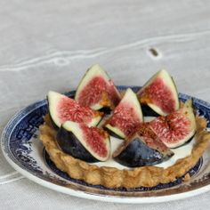 Light and delicate Fig Tart