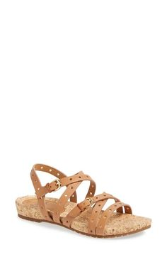 Free shipping and returns on Söfft 'Malana' Leather Sandal (Women) at Nordstrom.com. A strappy sandal embraces the season's cutout trend with clean-cut perforations all along the way.