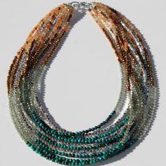Golnar Jewelry - Layered necklace ATHENA, $155.00 (http://www.golnarjewelry.com/layered-necklace-athena/)