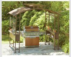 Outdoor Steel Yard Garden Patio Deck Bbq Grill Cooking
