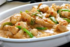 Bicol Express, another Filipino favorite. You'll need glass after glass of water when eating this. (Hint, hint: it's spicy.)