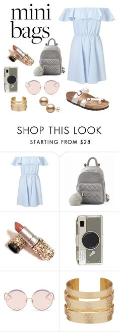 """""""Mini bags"""" by mbhstyle ❤ liked on Polyvore featuring Miss Selfridge, Birkenstock, Kate Spade and N°21"""