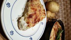 Pasticcio di patate e salsiccia al forno