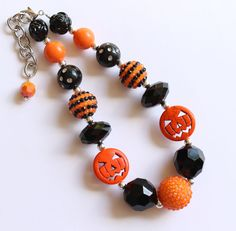 Jack Limited Edition Halloween Chunky Necklace for Girls