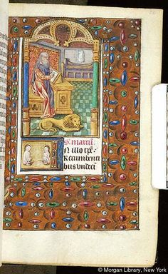 Book of Hours, MS S.5 fol. 20r - Images from Medieval and Renaissance Manuscripts - The Morgan Library & Museum