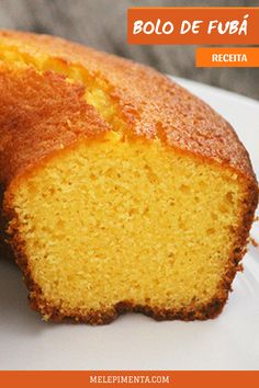 Delicious and healthy cornmeal cake recipe. A delicious homemade cake that . Easy Smoothie Recipes, Easy Smoothies, Breakfast And Brunch, Cornmeal Cake Recipe, Quiche Lorraine, Cake Recipes, Snack Recipes, Coconut Recipes, Homemade Cakes
