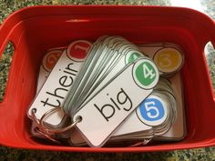 my sight word folder | They are a freebie in my teacher store. The file says second grade ...