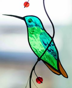 Hummingbird stained glass window hangings gift for mom Custom stained glass bird suncatcher hummingbird gift Custom Stained Glass, Stained Glass Birds, Stained Glass Panels, Stained Glass Projects, Stained Glass Patterns, Mirror Mosaic, Mosaic Art, Mosaics, Glass Fusion Ideas