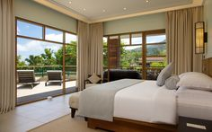 Don't fancy sunbathing by the pool? Enjoy the privacy of your Savoy Suite balcony instead… 5 Star Resorts, Seychelles, Resort Spa, Dining Area, Balcony, Terrace, Relax, Fancy, Living Room