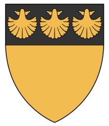 Earldom of Menteith - WappenWiki Family Shield, Family Crest, Picts, Scallops, Coat Of Arms, Superhero Logos, Genealogy, Herb, Celtic