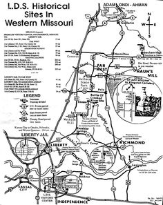 LDS Historical Sites in Western Missouri