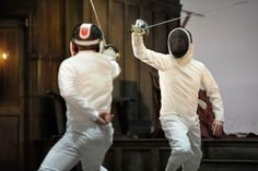 Fencing Hamlet at Royal Shakespeare Company: Jonathan Slinger as Hamlet and Luke Norris as Laertes
