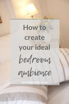 Is your bedroom feeling a bit neglected and unwelcoming? Here are some easy ways to create your ideal bedroom ambience and turn it into a relaxing haven. Bedroom Lamps, Cozy Bedroom, Bedroom Lighting, Street Lamp, Bedroom Layouts, Beautiful Family, Home Hacks, Soft Furnishings, Things That Bounce