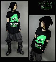 CDJapan : [Gatchaman CROWDS insight] Fukidashi-sama Conical Hooded Dolman Parka (M) DRG005-BGRE Deorart APPAREL
