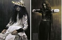 "Vogue Italia Sept. 2011  ""Chic Gothic Glam"" photographed by Craig McDean"