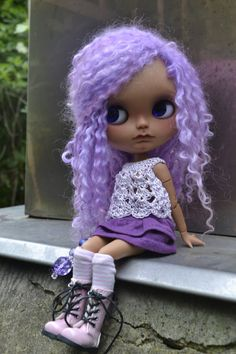 OOAK Blythe doll Fondant reserved for MK by nhola on Etsy