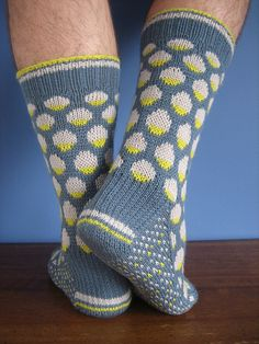 Sock Season Incoming! Syd Sock Knitting Pattern by James Magee