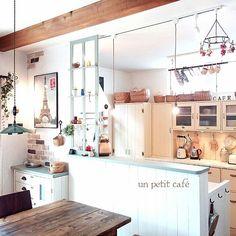 カフェ風で使えるカフェ風のインテリア実例