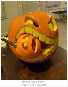 Cool Pumpkin Carving Ideas: 2012 Halloween Pumpkin Designs